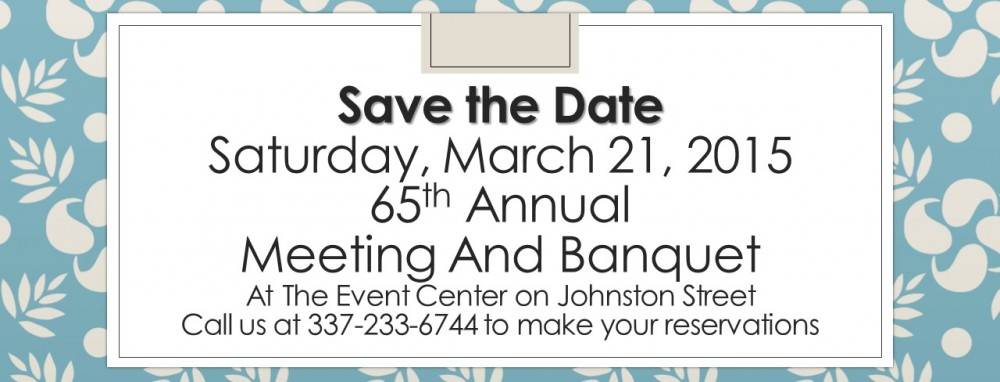 65th annual meeting