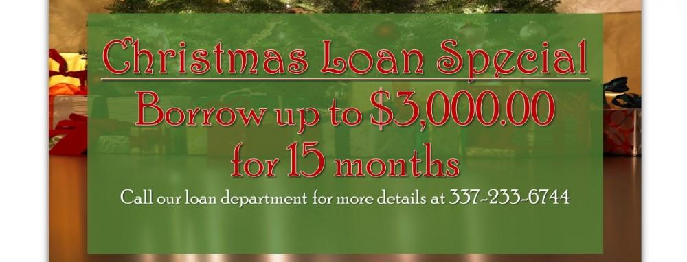 christmas loan 2015